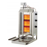 Axis Equipment AX-VB3 Heavy Duty Vertical Gas Broiler - 3 Burners