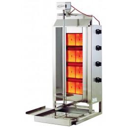 Axis Equipment AX-VB4 Heavy Duty Vertical Gas Broiler - 4 Burners