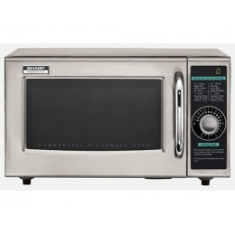 Sharp R-21LCFS Commercial Microwave 1000W, 120V