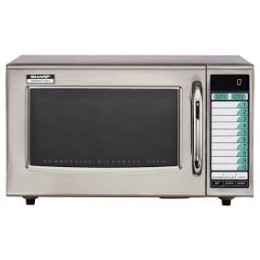 Sharp R-21LVF Microwave Programmable w/ Touchpad 1000W