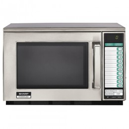 Sharp R-22GTF Heavy Duty Commercial Microwave Oven 1200 Watts 120V