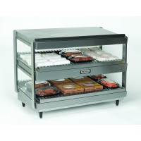 Nemco 6480-30 Dual Shelf Horizontal Heated Merchandiser 30
