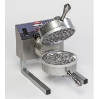 Nemco 7020A-1208 Single Fixed Grid Belgian Waffle Maker, 208V