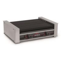 Nemco 8027SX-220 27 Hot Dog Roller Grill 220V with Non Slip GripsIt