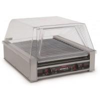 Nemco 8045SXN-220 Narrow 45 Hot Dog Roller Grill 220V NonSlip GripsIt