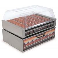 Nemco 8075SX-220 75 Hot Dog Roller Grill 220V with Non Slip GripsIt