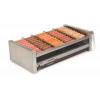 Nemco 8250SX-SLT Digital 50 Hot Dog Roller Grill with NonSlip GripsIt