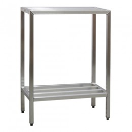 New Age 1021 All Welded HD Shelving Two Shelf 20inD x 48inH x 36inL