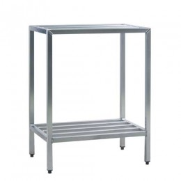 New Age 1031 All Welded HD Shelving Two Shelf 24inD x 48inH x 42inL