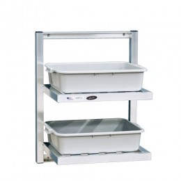 New Age 98272 Two Tier Bus Shelf 24