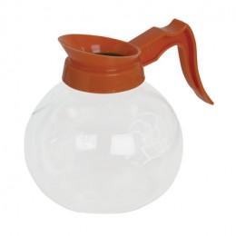 Newco 100510 1.9L Glass Decanter, Orange