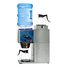 Newco KB-2F Bottled Water Brewer 1 Lower, 1 Upper  Warmer w/Faucet 120V