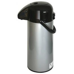 NewTech Airpot w/ Smooth Pump Silver 2.2 L