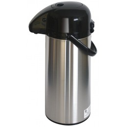 NewTech Airpot w/ Smooth Pump Brushed Stainless 2.2 L
