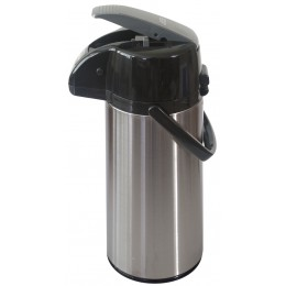 NewTech Airpot w/ Lever Action Brushed Stainless 2.2 L