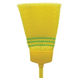 Nexstep 07012 Pollyana Plastic Fiber Household Broom (12 Pack)