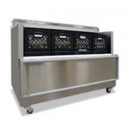 Norlake AR162-A Open Front Cold Wall Milk Coolers 62-5/8