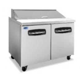 Norlake NLSP48-12 AdvantEDGE Standard Sandwich Preparation Refrigerator Units 48-1/4