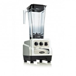 Omega 82 oz 3 HP Variable Speed Commercial Blender w/ Timer Silver