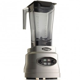 Omega BL630S Variable Speed 64oz Commercial Blender w/ Timer/Pulse Silver