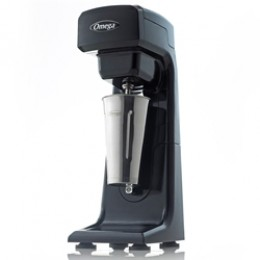 Omega M1000 Milkshake Mixer Single Spindle Black/SS