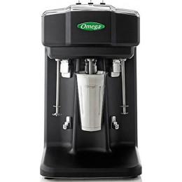Omega M3000 Milkshake Mixer Triple Spindle Black/SS