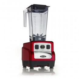 Omega OM6560R 3HP Blender, Variable 10-Speed Red