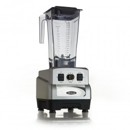 Omega OM6560S 3HP Blender, Variable 10-Speed Silver