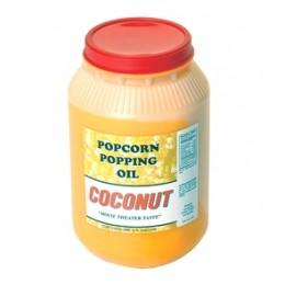 Paragon 1015 Coconut Popcorn Popping Oil 1 Gallon