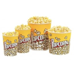 Paragon 130oz. Popcorn Buckets 50/CS
