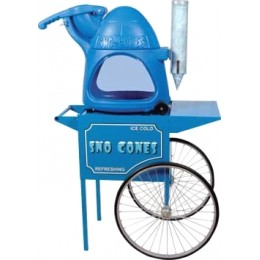 Paragon 6133410-3080030 The Cooler Snow-Cone Machine with Cart