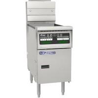 Pitco SSH60 Solstice Supreme High Efficiency Gas Fryer 50-60lb Oil Capacity Full Tank