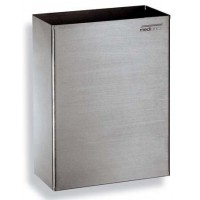 Saniflow PP0279CS Stainless Steel Satin Finish Waste Receptacle
