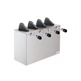 Server Express Quadruple Condiment Dispenser