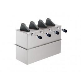 Server Express Quadruple Drop-In Condiment Dispenser