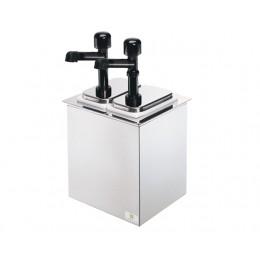Server Drop-In Serving Bar w/ Solution Pumps