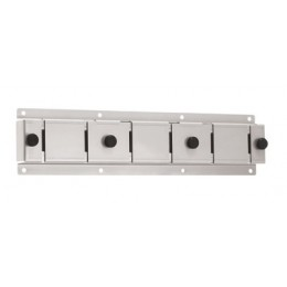 Server Triple Component Bracket for Wall-Mount Topping Station