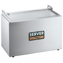 Server Insulated Relish Server for Three 1/6-size Steam Table Pans