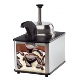 Server Self-Serve Fudge Server Supreme w/ Pump & Spout Warmer