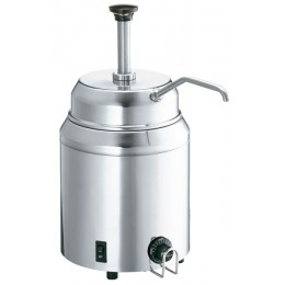 Server Hot Topping Warmer w/ Pump