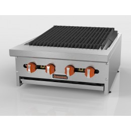 Sierra SRRB-24 4-Burner Radiant Broiler, 64,000 BTU
