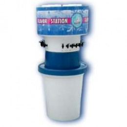Snowie 10 Flavor Station Medium 1.25 Gallon Jugs