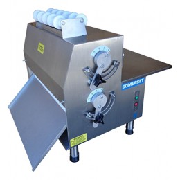 Somerset CDR-1500 Double Pass Side Operated Dough Roller 15