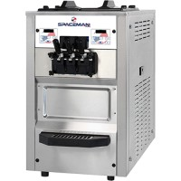 Spaceman 6245AH Soft Serve Counter Machine with Air Pump 2 Hoppers