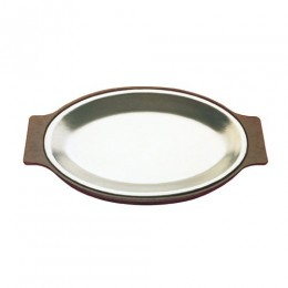 Tomlinson 1006369 Solid Cast Oval Dinner Platter 8 x 12 Frosty 12/CS