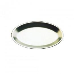 Tomlinson Aluminum Modern Oval Design Platter Burnished Finish 12/CS