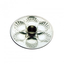 Tomlinson Aluminum Shell Design Dinner Platter Burnished Finish 12/CS