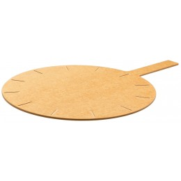 Tomlinson Richlite Pizza Board 26in x 18in Round 12 Slicing Guides