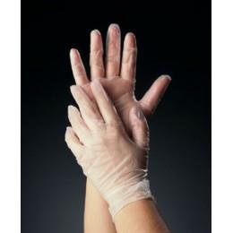 Tomlinson C-Kure Vinyl Powdered Food Service Gloves Small 1000/CS