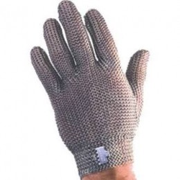 Tomlinson Ambidextrous Full Hand Steel Closure Metal Mesh Gloves Large